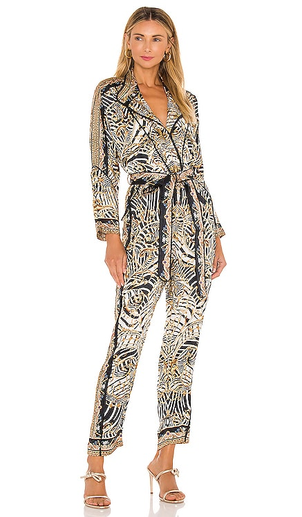 Zip Front Panel Jumpsuit Camilla $899 NEW