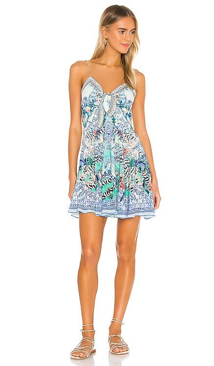 Tie Front Short Dress Camilla $649 NEW ARRIVAL