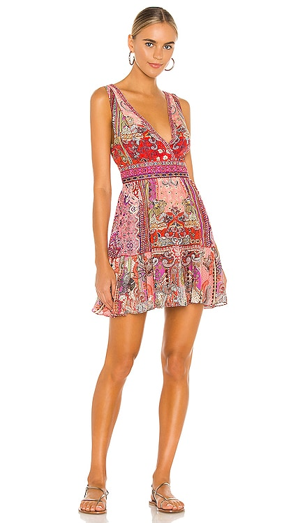 Panelled Short Dress Camilla $699 NEW