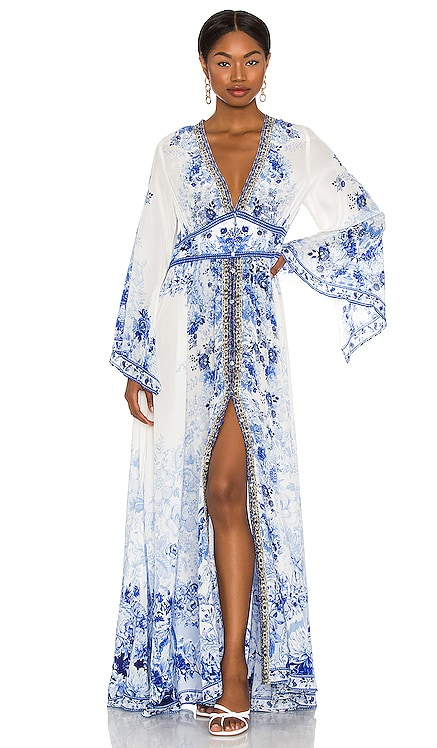 Kimono Sleeve Dress Camilla $849 NEW
