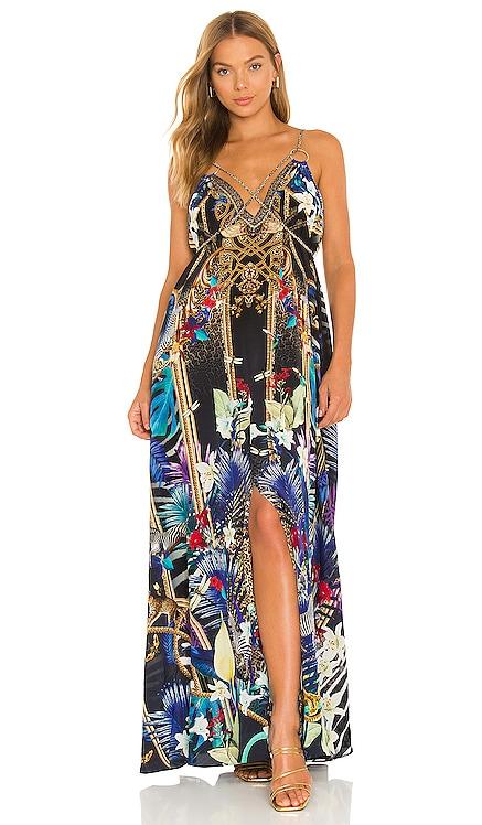 Ring Detail Strap Dress Camilla $699 NEW