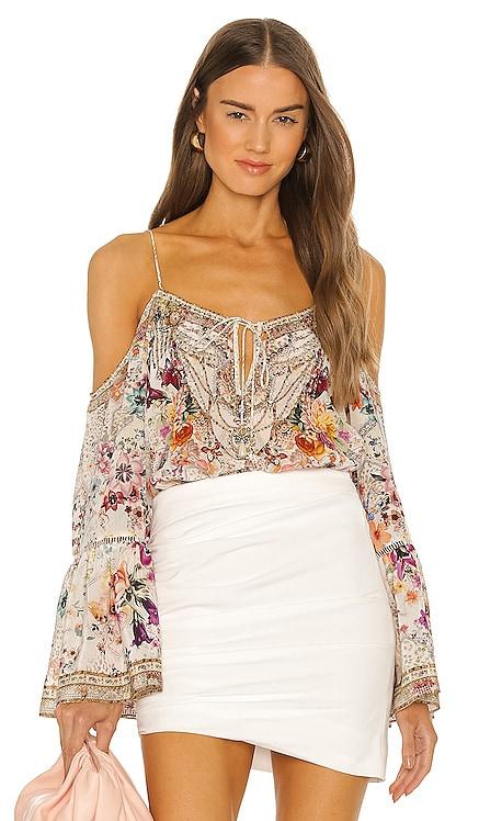 Drop Shoulder Top Camilla $499 NEW