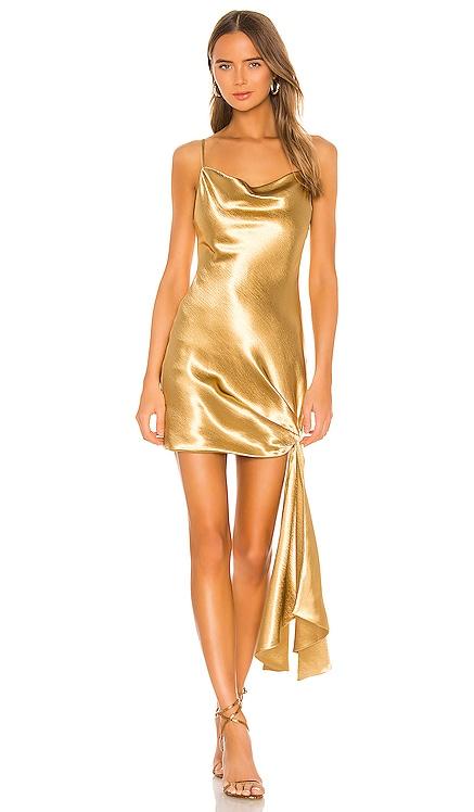 Satin Ryder Dress Cinq a Sept $395