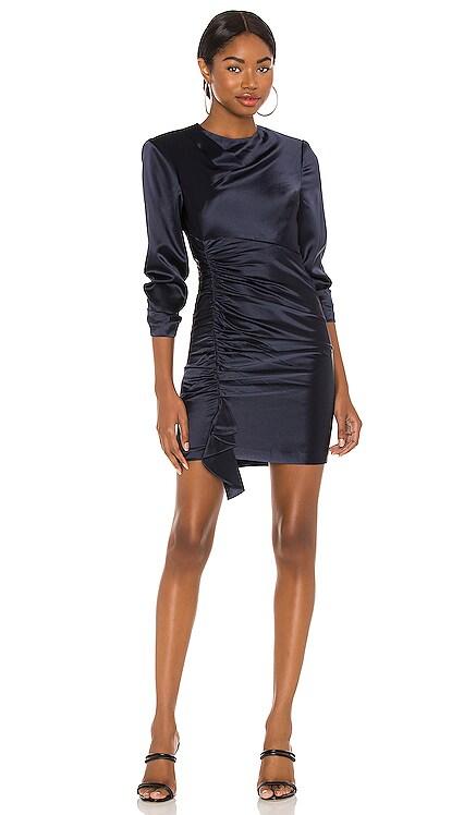 Smooth Satin Natalia Dress Cinq a Sept $425