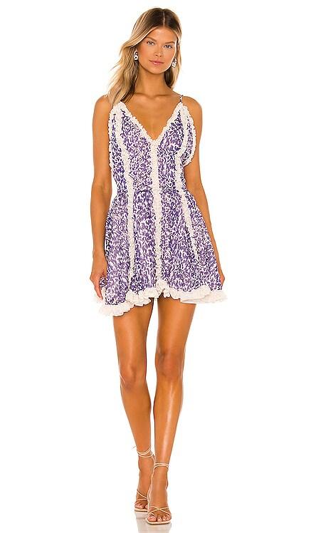 Frill Mini Dress CHIO $517 NEW