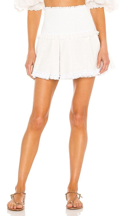 Ruffle Mini Skirt CHIO $392