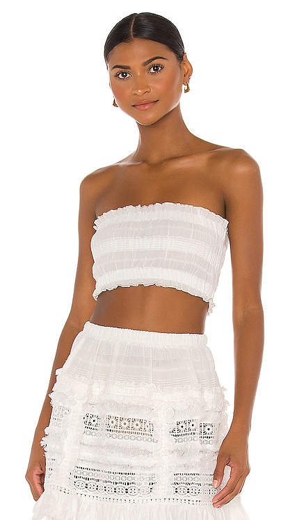 Ruched Tube Top CHIO $145