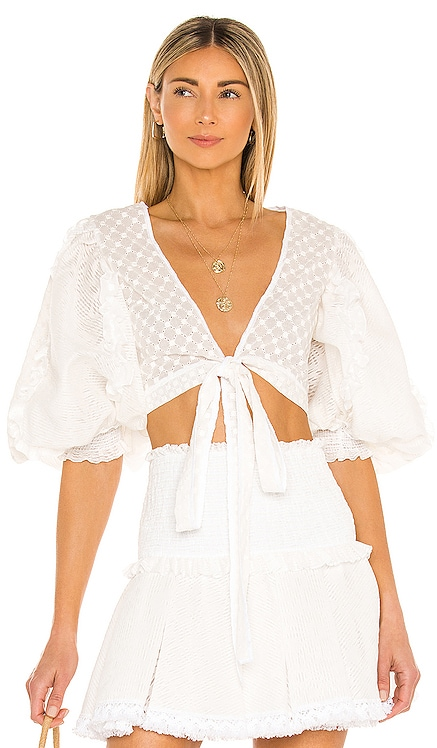 TOP CROPPED CHIO $436
