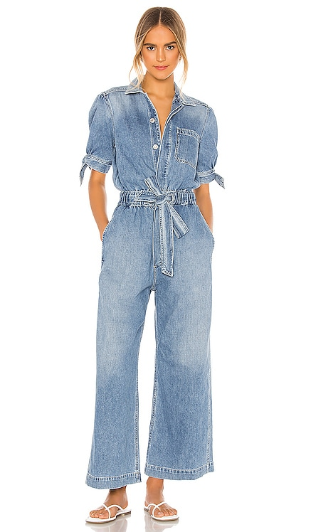 Robyn Knot Sleeve Jumpsuit Citizens of Humanity $488 NEW