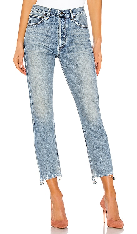 Charlotte Crop High Rise Straight Citizens of Humanity $268 BEST SELLER