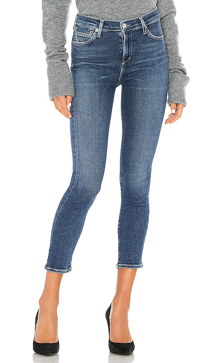 Rocket Crop Mid Rise Skinny Citizens of Humanity $198 BEST SELLER