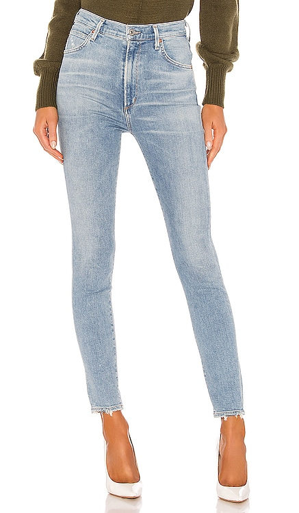Chrissy Sculpt High Rise Skinny Citizens of Humanity $218