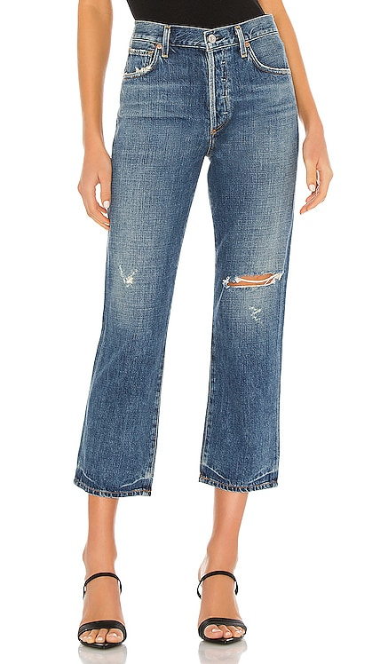 Emery High Rise Relaxed Crop Citizens of Humanity $258