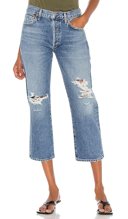 Emery High Rise Relaxed Crop Citizens of Humanity $139
