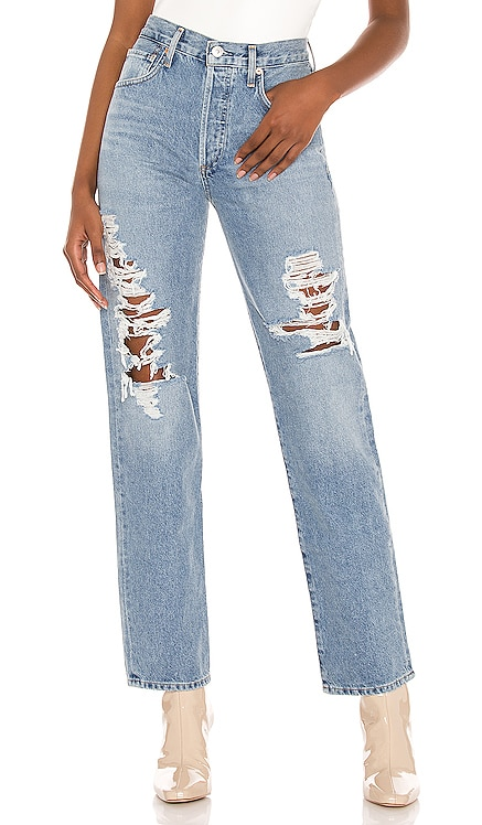 Emery Long Mid Rise Relaxed Straight Citizens of Humanity $146