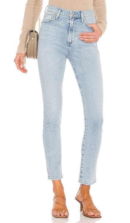 Olivia High Rise Slim Citizens of Humanity $198 NEW