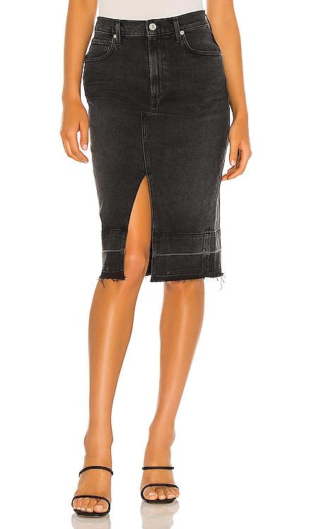 Lauren Front Slit Midi Skirt Citizens of Humanity $146