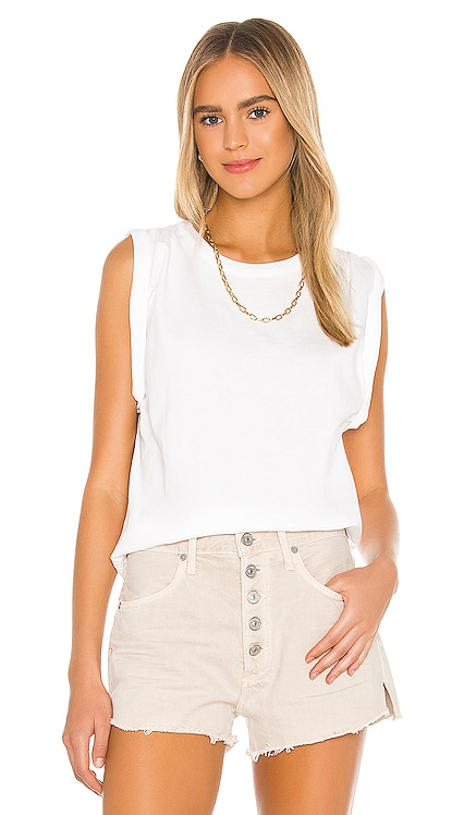 Jordana Rolled Sleeve Tee Citizens of Humanity $118 BEST SELLER