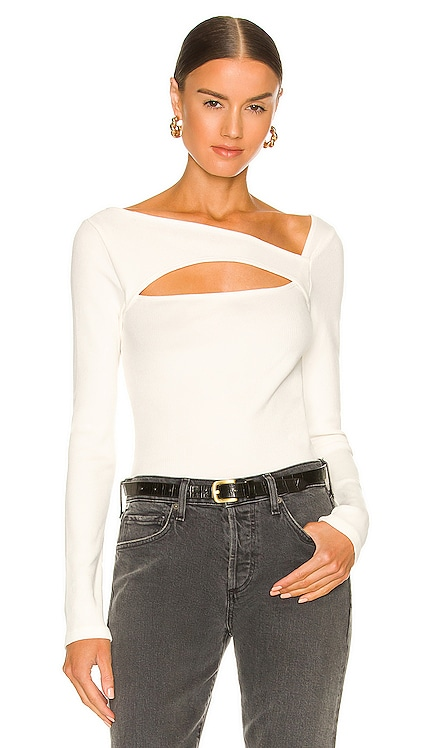 Iris Long Sleeve Cut Out Top Citizens of Humanity $128 NEW