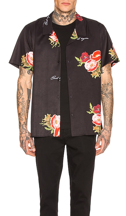 Full Bloom Camp Collar Shirt Civil Regime $19 (FINAL SALE)