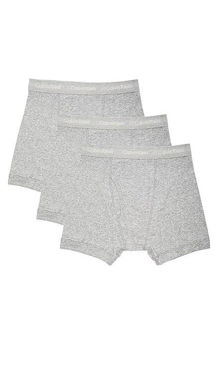 Cotton Classics 3 Pack Boxer Briefs Calvin Klein Underwear $40