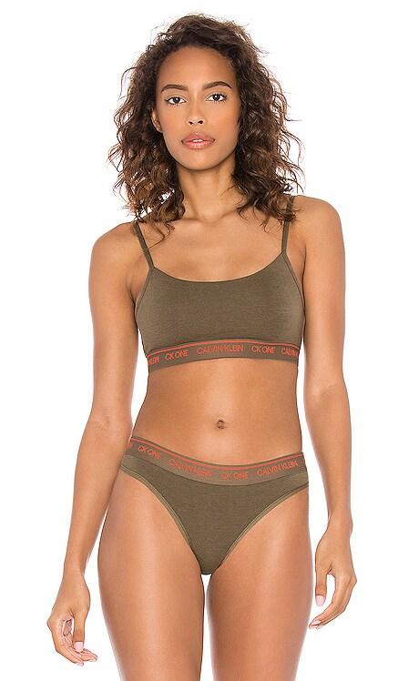 BRASSIÈRE ONE COTTON Calvin Klein Underwear $28