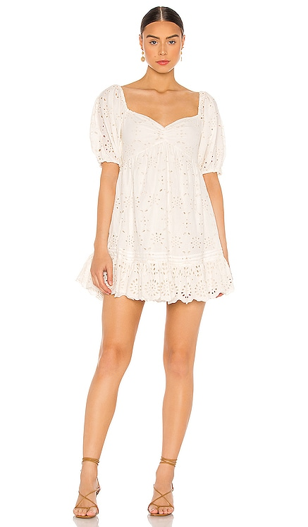 Shudi Eyelet Dress Cleobella $178
