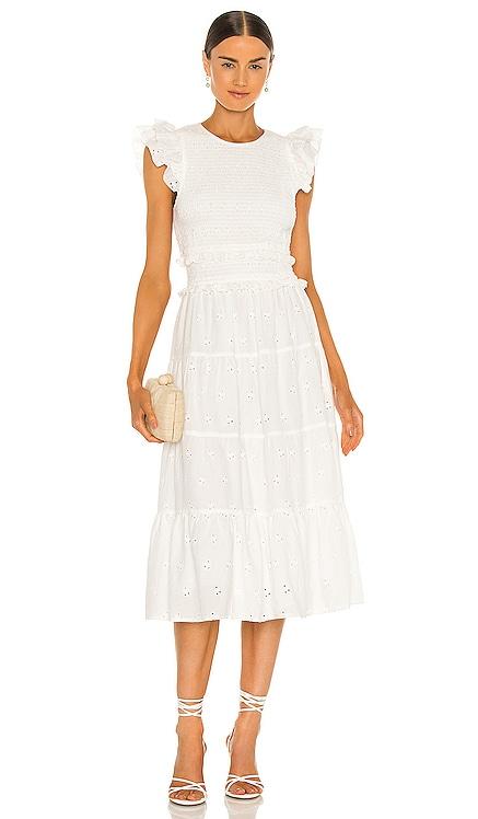Emmy Midi Dress Cleobella $248 NEW