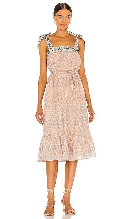Cassandra Midi Dress Cleobella $208 NEW