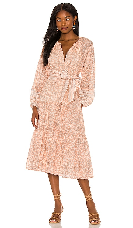 Kala Midi Dress Cleobella $208 NEW