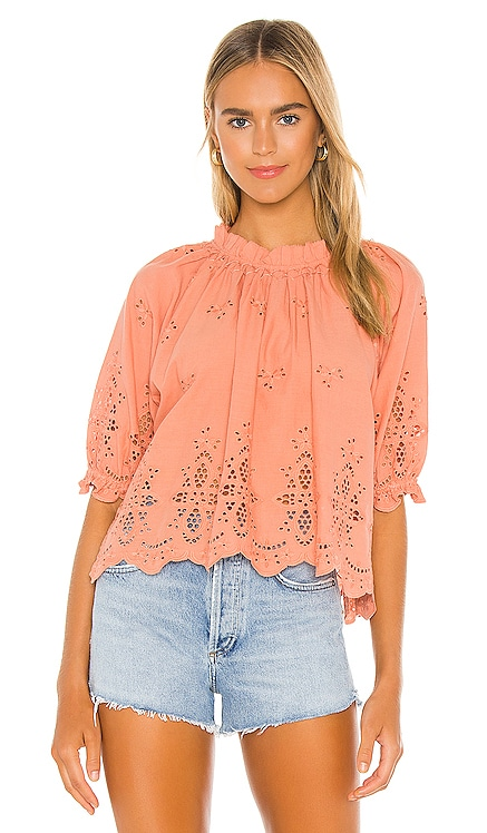 Arden Blouse Cleobella $138 NEW