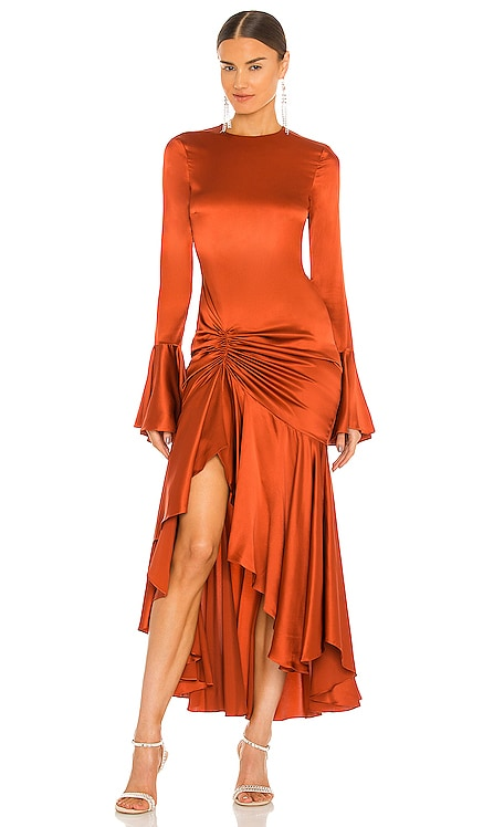 Monique Midi Dress Caroline Constas $795 NEW