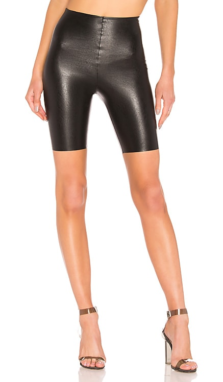 Faux Leather Bike Shorts Commando $78 BEST SELLER