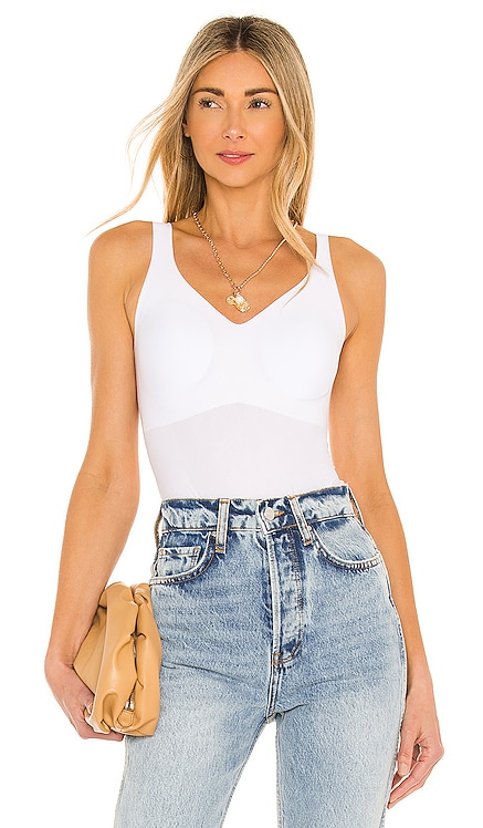 Butter Soft Support Bodysuit Commando $98 NEW