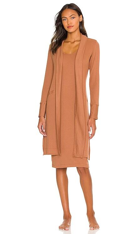 Luxury Rib Robe Commando $138 NEW