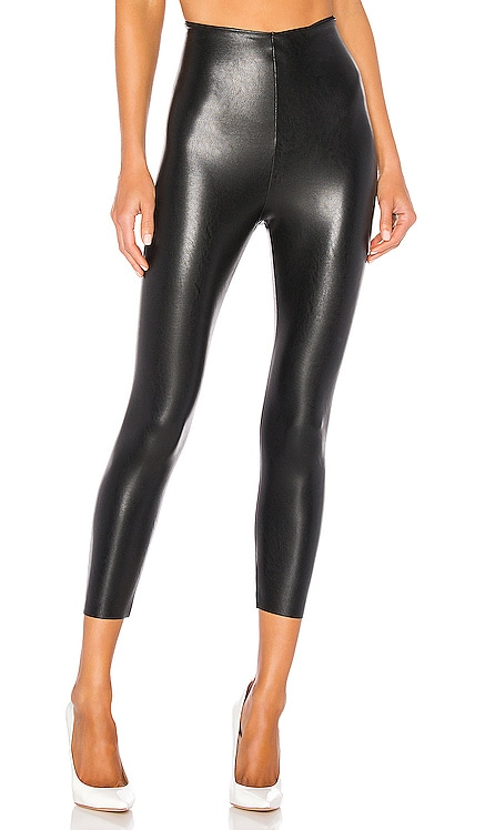 Perfect Control Faux Leather Capri Commando $88 BEST SELLER