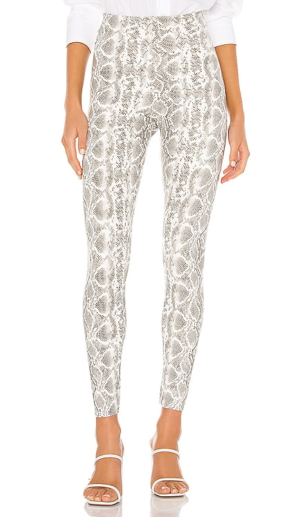 Faux Leather Animal Leggings Commando $118