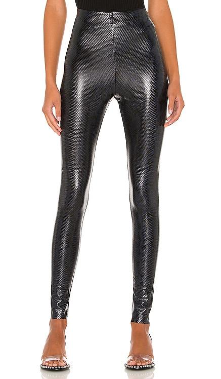 Faux Leather Animal Legging Commando $118 NEW