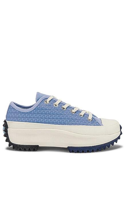 Run Star Hike Platform Crochet Twist Sneaker Converse $105