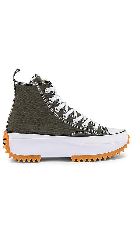 Run Star Hike Hi Sneaker Converse $110 NEW