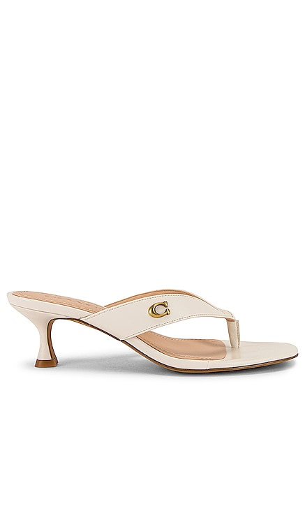 Audree Leather Sandal Coach 1941 $150