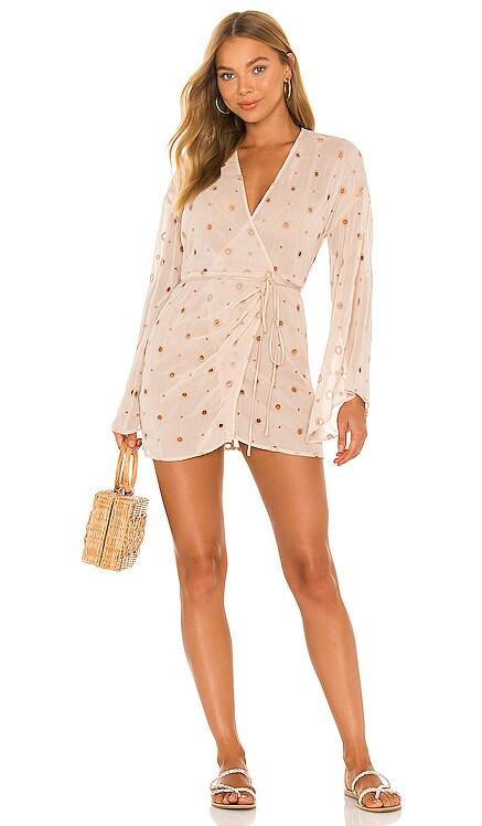Isabella Kimono Wrap Dress Camila Coelho $168