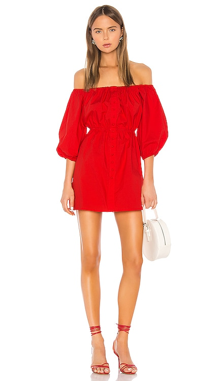 Archer Off Shoulder Dress Camila Coelho $158 BEST SELLER