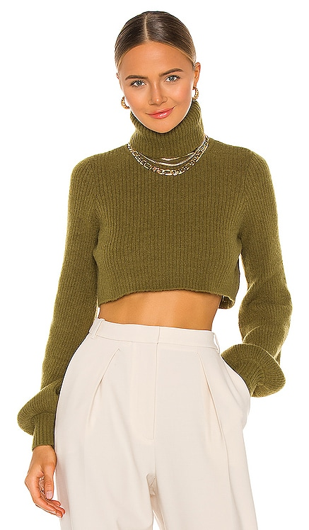 Cesare Cropped Sweater Camila Coelho $158 NEW