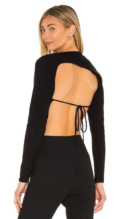 Felicity Asymmetrical Back Sweater Camila Coelho $148