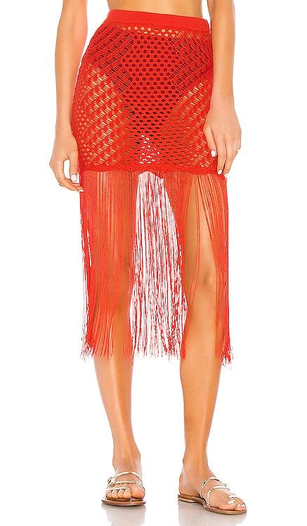 Ipanema Crochet Skirt Camila Coelho $158
