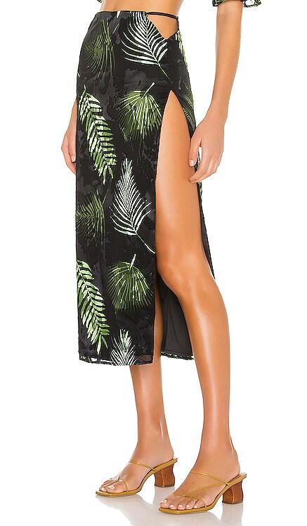 Esmeralda Midi Skirt Camila Coelho $178 BEST SELLER