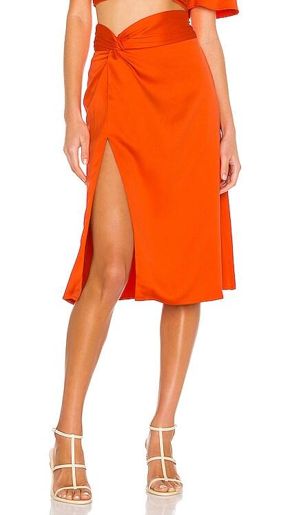 Silvia Midi Skirt Camila Coelho $158 NEW
