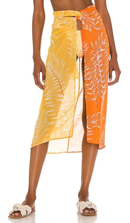 Jayla Pareo Skirt Camila Coelho $158 NEW