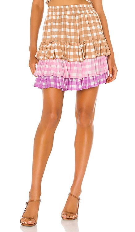 Penelope Gingham Skirt coolchange $248